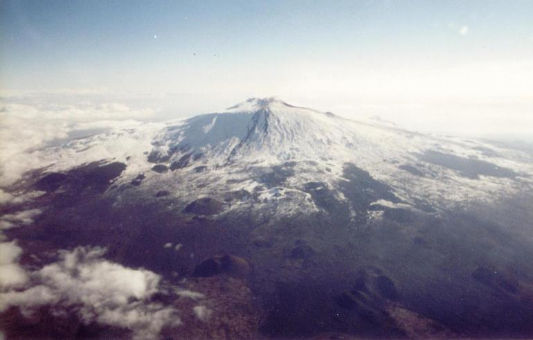 Photo of Etna from plane