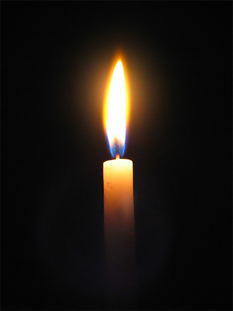 Photo of ...simply a candle...