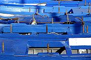 Photo of Blue boats